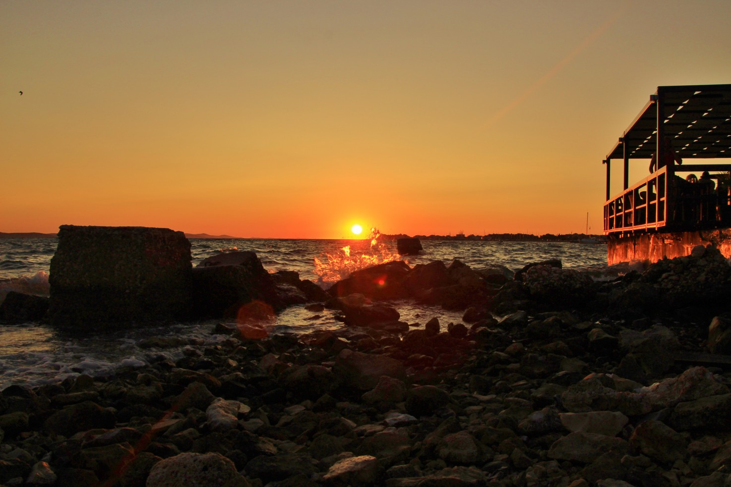 zadar sunset travel blog
